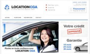Achat automobiles usagés : Location CGA