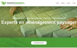 Paysagiste pour aménagement paysager, pavé uni, asphalte…