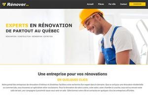 Entreprise pour la rénovation résidentielle ou commerciale : Rénover.ca