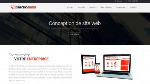 Création de site web à Brossard avec Direction Web