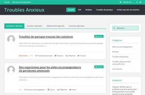 Troubles Anxieux – phobies – troubles obsessionnels compulsifs (toc) – troubles de panique